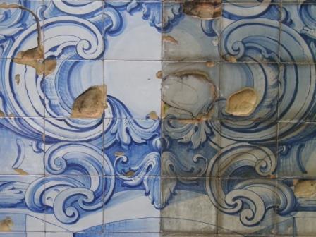 Conservação e Restauro de Azulejo. Fonte do Cano.