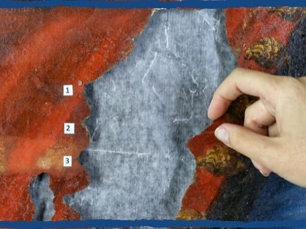 conservação de pintura
