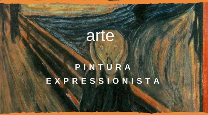 Pintura Expressionista Imagm destaque