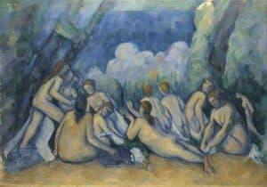 Paul_Cézanne_-_Bathers_(Les_Grandes_Baigneuses)web
