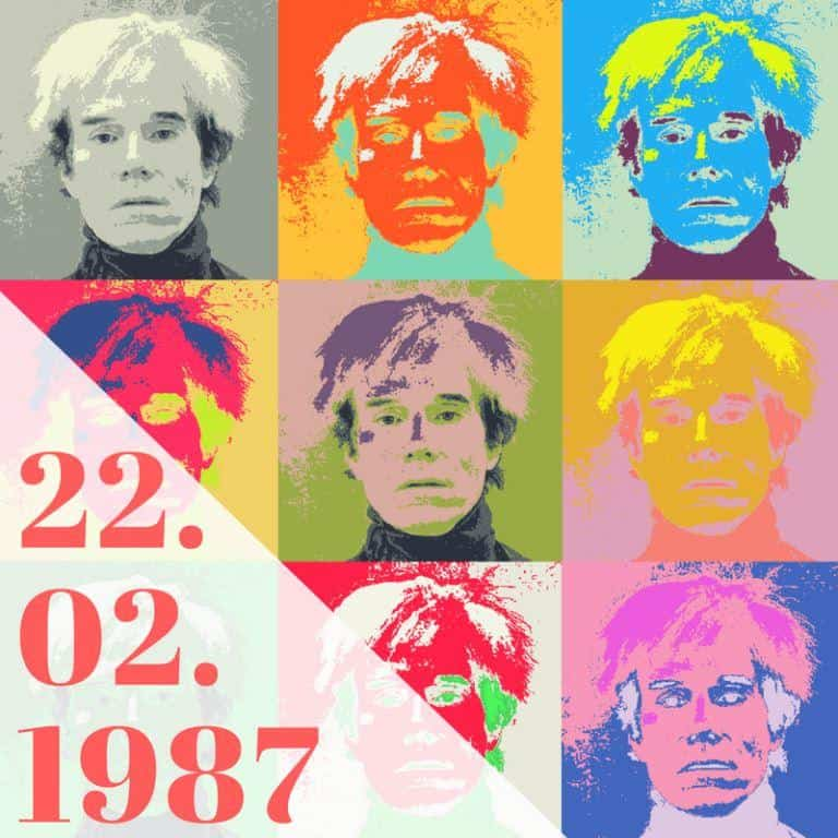 22.02.1987_morre Andy warhol