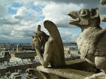 Notre Dame quimeras