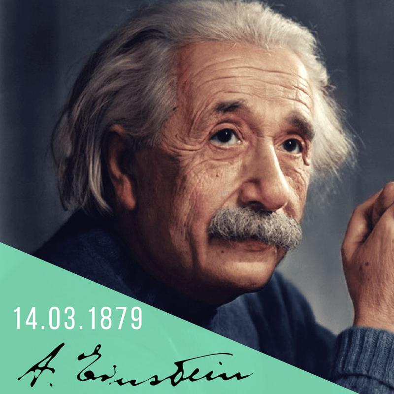 14.03.1879_Nasce Albert Einstein