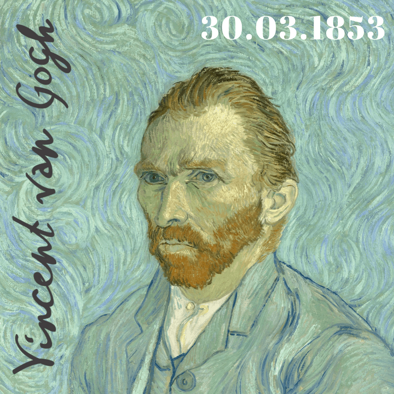 30.03.1853_Nasce Vincent Van Gogh