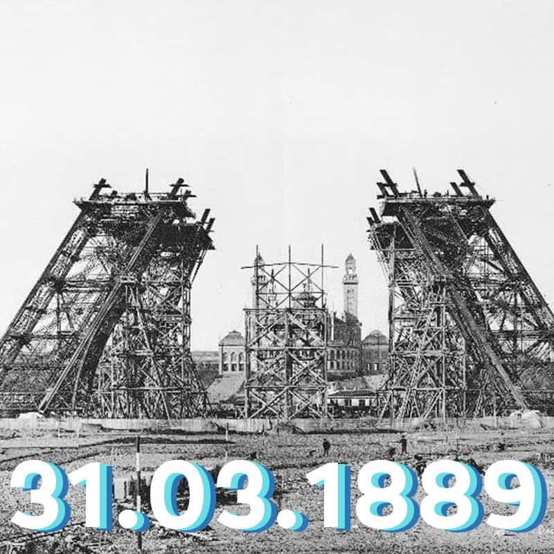 31.03.1889_Torre eifel abre pela primeira vez ao publico