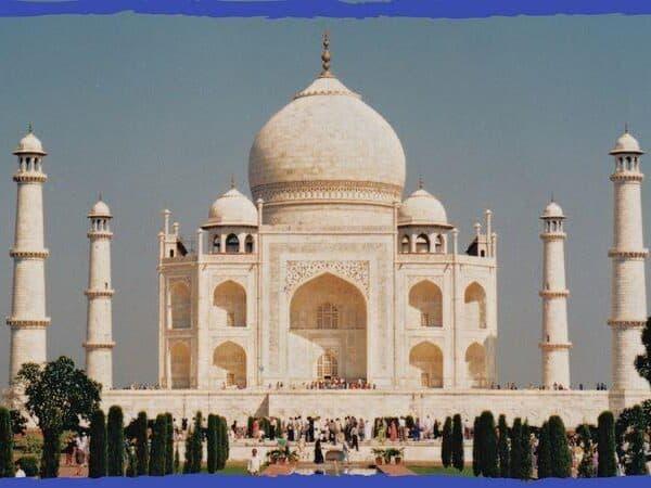 Taj Mahal capa