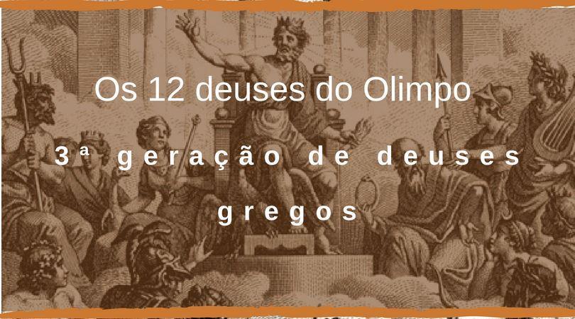 12 deuses do olimpo capa