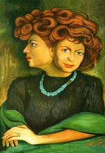 Matilde Urrutia por Diego Riveraweb