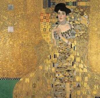 O Retrato de Adele Gustave Klimt