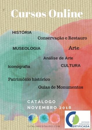 Catálogo cursos online Novembro 2018
