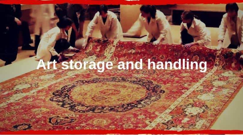 Art Storage and handling cover