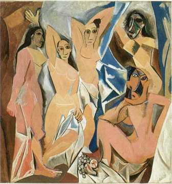 Pablo Picasso Demoiselles d'Avignon