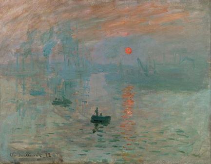 Monet Impressão Nascer do Sol