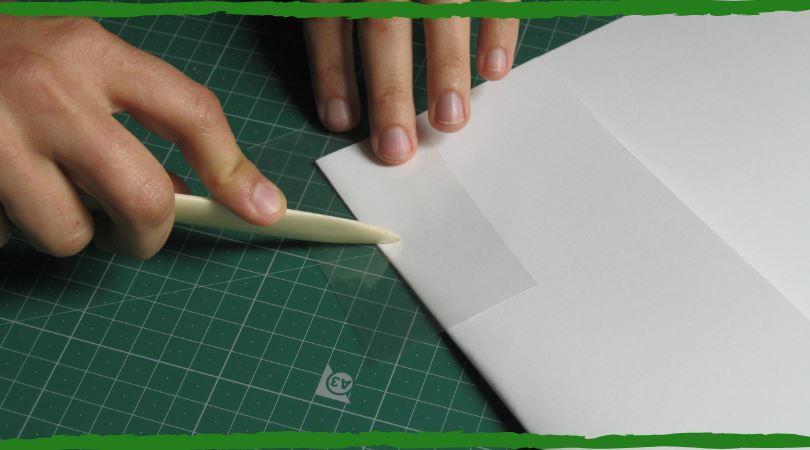 embalaje de documentos capa