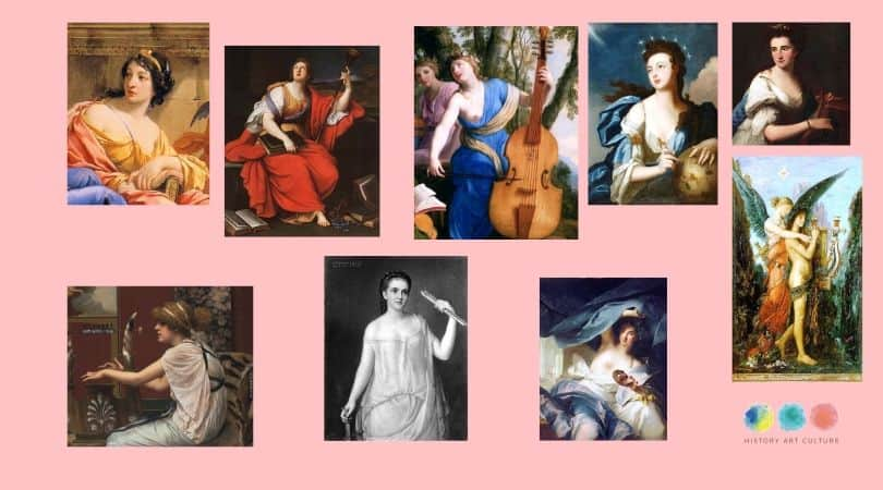the 9 muses