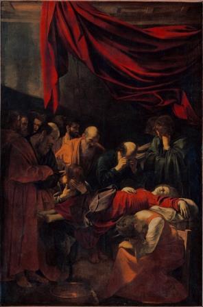 Caravaggio A Morte da Virgem