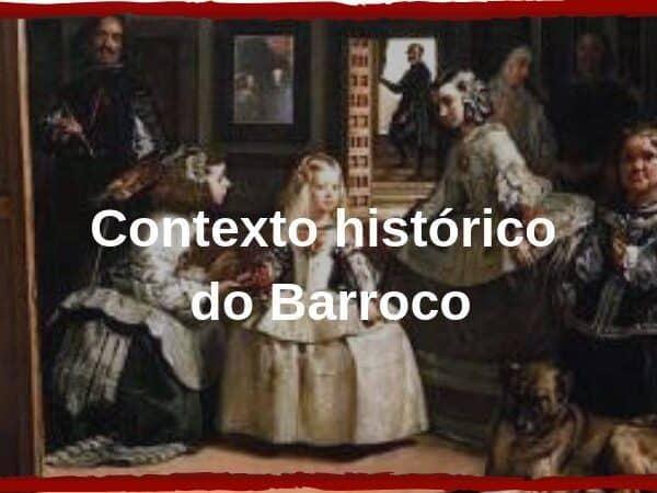 Contexto histórico do barroco capa