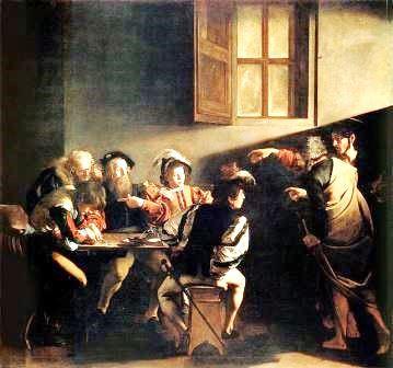 A Vocação de São Mateus, Caravaggio