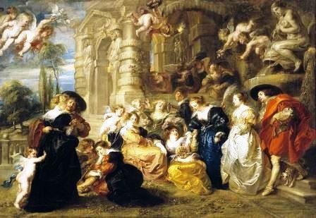 O Jardim de Amor, Rubens