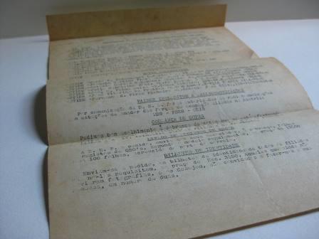 Arquivos danos em papel