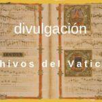 archivos del vaticano