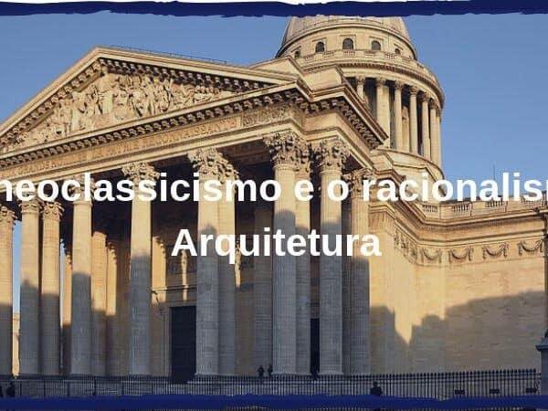 neoclassicismo e racionalismo capa