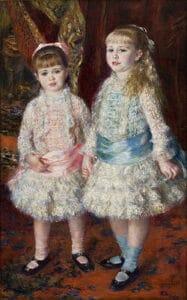 Rosa e Azul (As Meninas Cahen d'Anvers)
