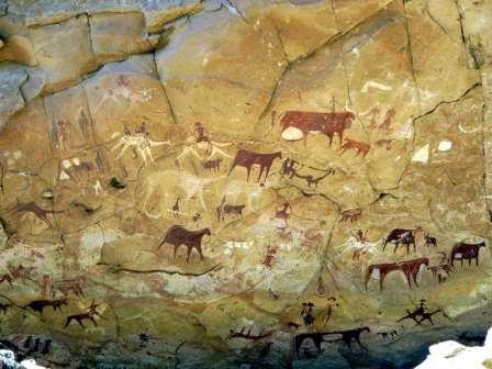 Saara pintura rupestre