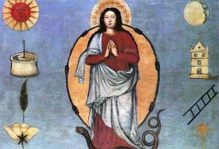 Imaculada Conceição sec XVIII Brasil