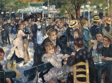 Pierre Auguste Renoir Moulin de la Galette