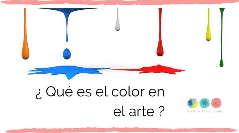 Que es el color en el arte