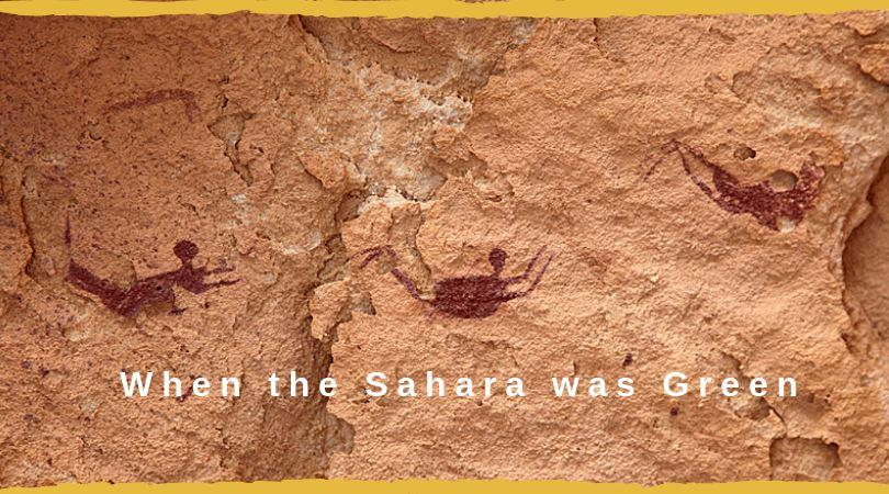 african rock art when the shaara was green