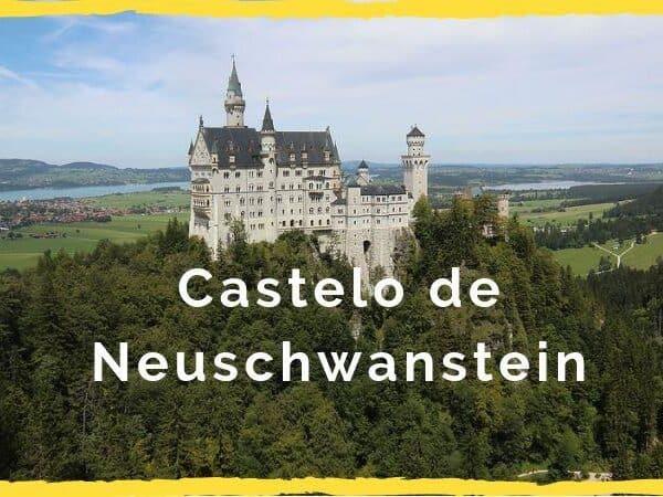 castelo de neuschwanstein capa