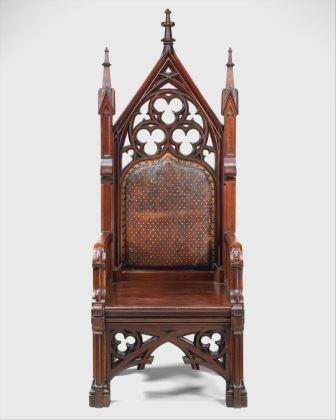 Gothic revival chair The Met