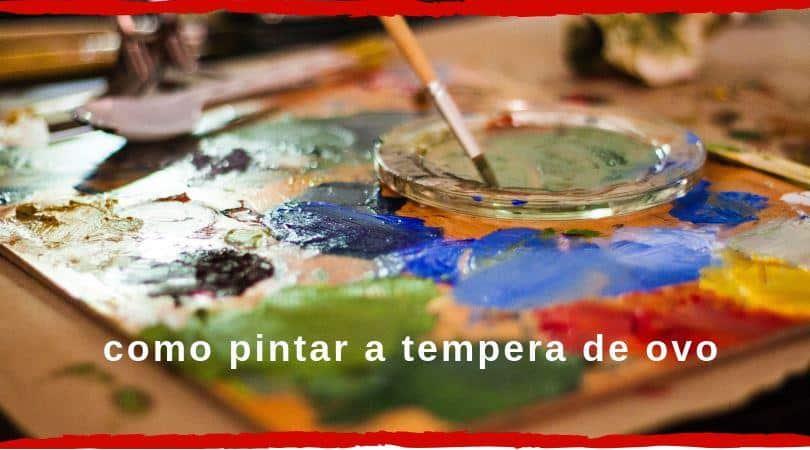pintura tempera capa