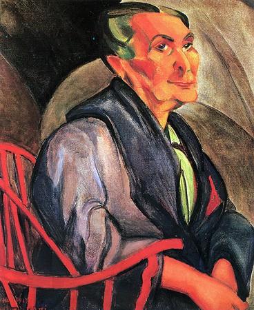Anita Malfatti,. Mulher de Cabelos Verdes