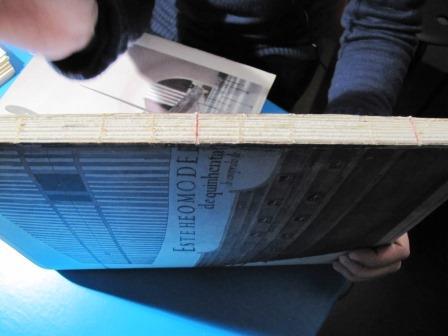 Encadernação artesanal cadernos