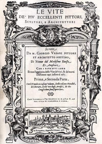 Vasari - As vidas dos artistas