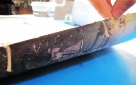 encadernação artesanal caderno 1