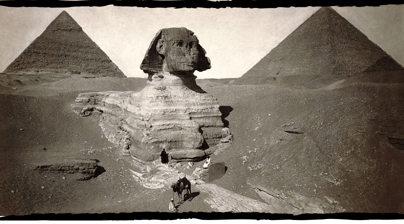 The great sphinx of Giza | the guardian of the city of the dead