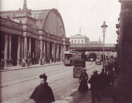 Bahnhof Alexanderplatz 1904