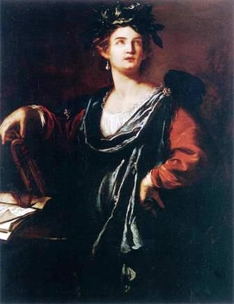 Clio Artemisia Gentileschi 1632