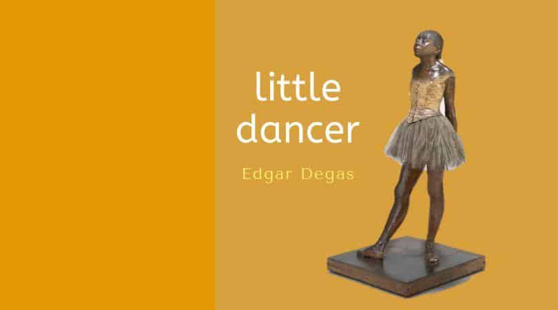 Degas little dancer capa