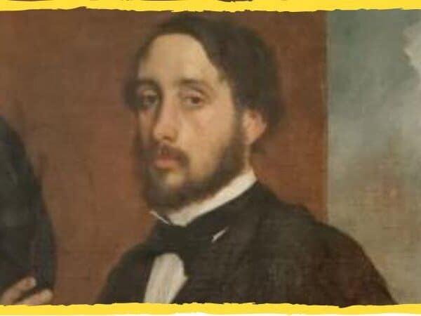 Edgar Degas capa