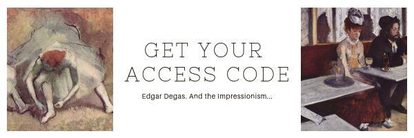 Get your access code Degas
