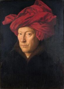 Jan Van Eyck Homem com turbante web
