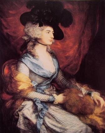 Mrs. Sarah Siddons, the actress Gainsborough