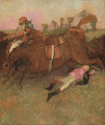Edgar Degas O jockey caído