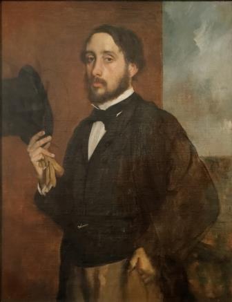 Edgar Degas autoretrato