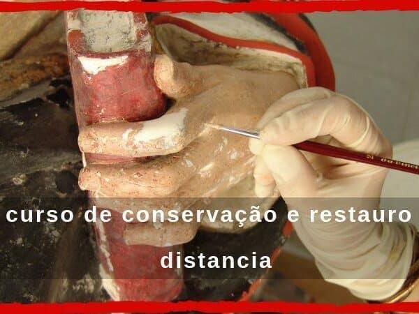 curso de conservação e restauro a distancia